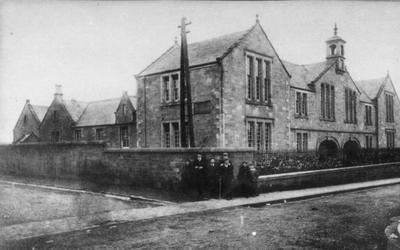 The school in its very early days